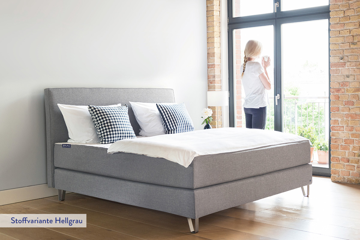 Picture of: The Bruno Box Spring Bed Brunosleep Co Uk